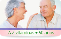 Multi Vitaminas y minerales para gente mayor