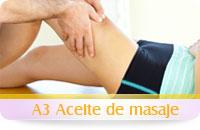 Aceite masaje deportivo