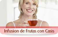 Infusion frutas casis