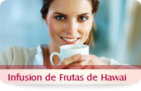 Infusion de hawaii frutas