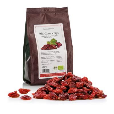 Cranberries dried organic