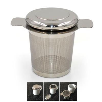 Tea filter with lid cebanatural