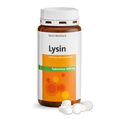 Cebanatural L-Lysin 500mg -Tablets