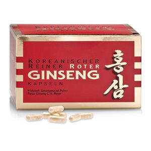 Ginseng (red corean Ginseng root)   200 Capsules