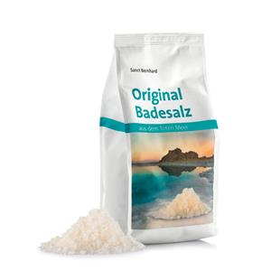 Bathing salt from the dead sea