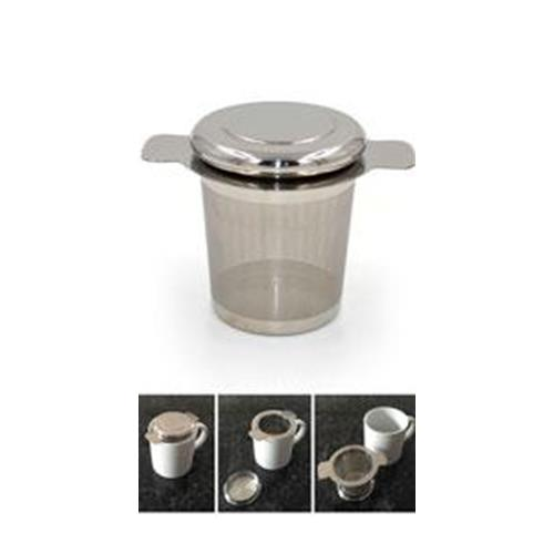 Tea filter with lid