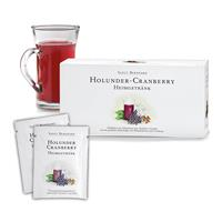 Hot drink of Cranberry and Elderberry